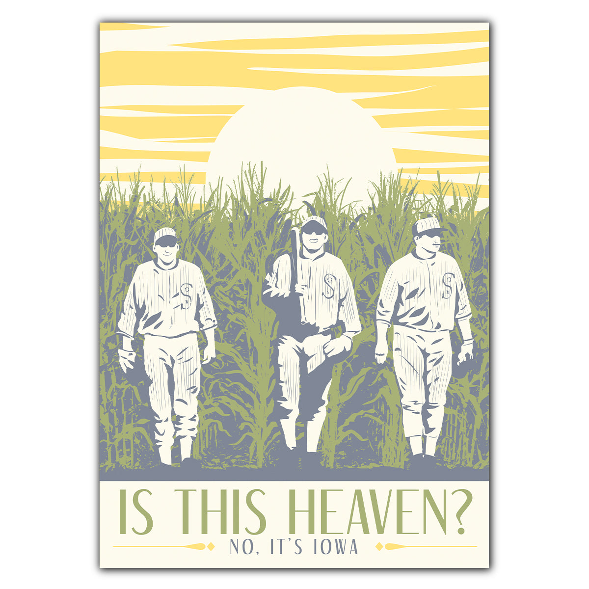 Is This Heaven? Greeting Card