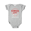 Kansas City Auto Sign Onesie