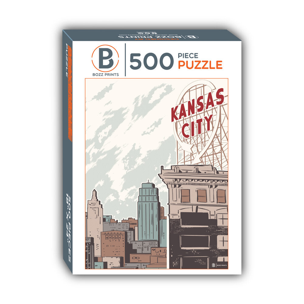 Kansas City Crossroads Jigsaw Puzzle