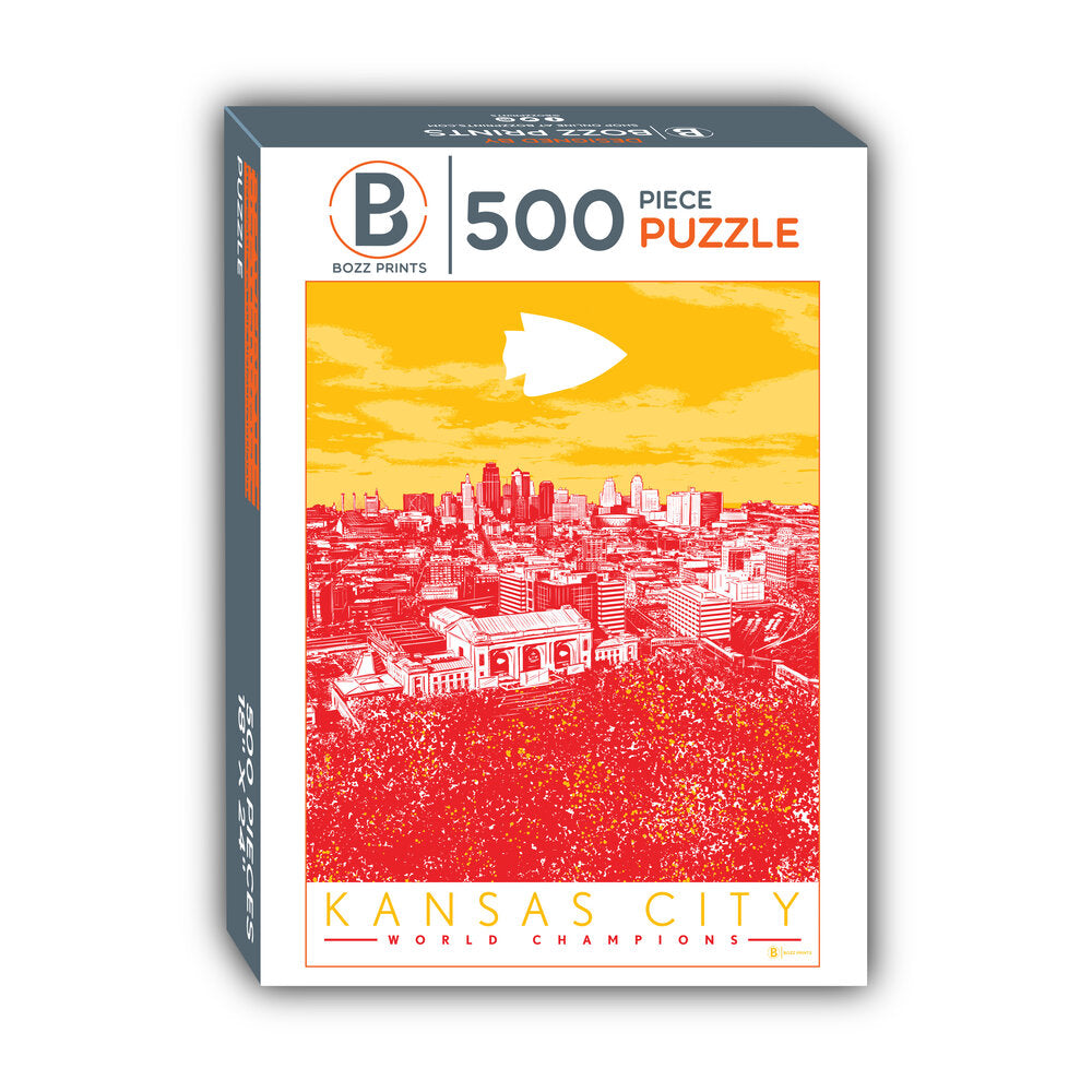 Kansas City World Champs Jigsaw Puzzle