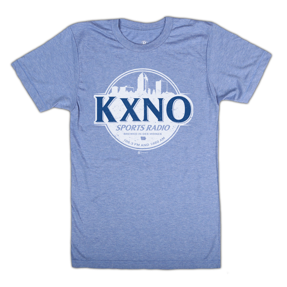 KXNO Brewed in Des Moines T-Shirt