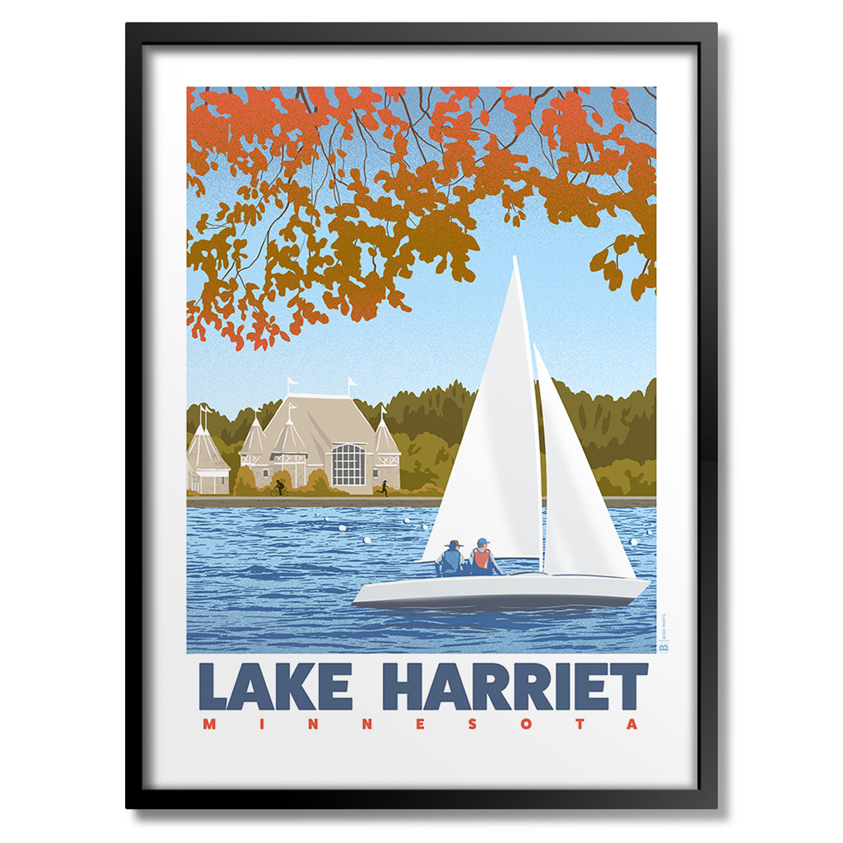 Lake Harriet Print