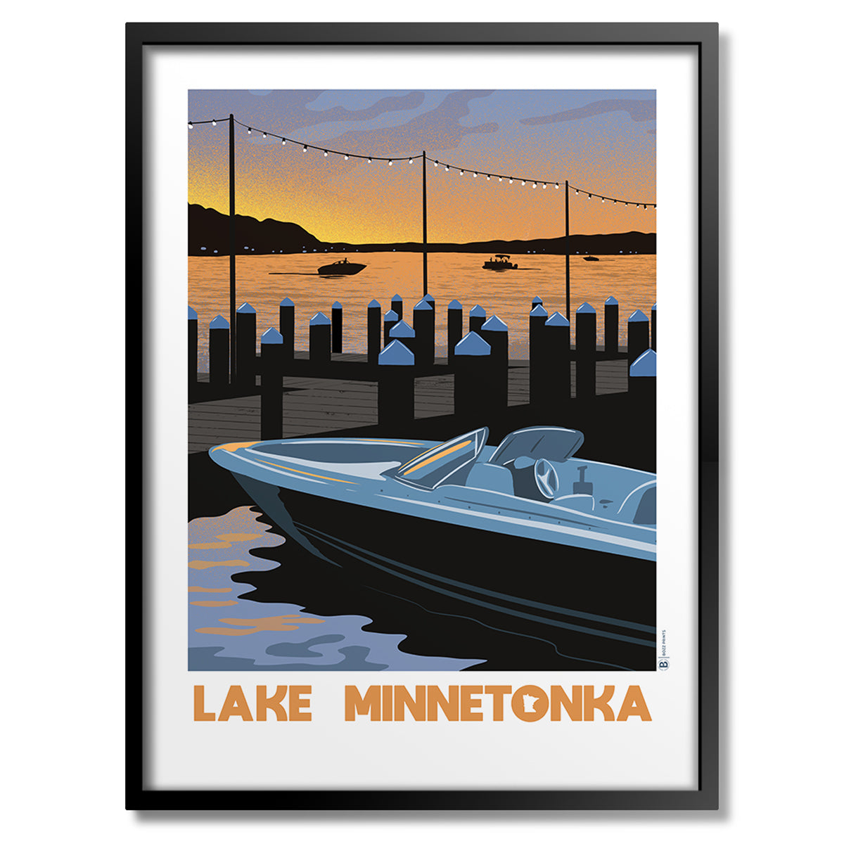 Lake Minnetonka Sunset Print