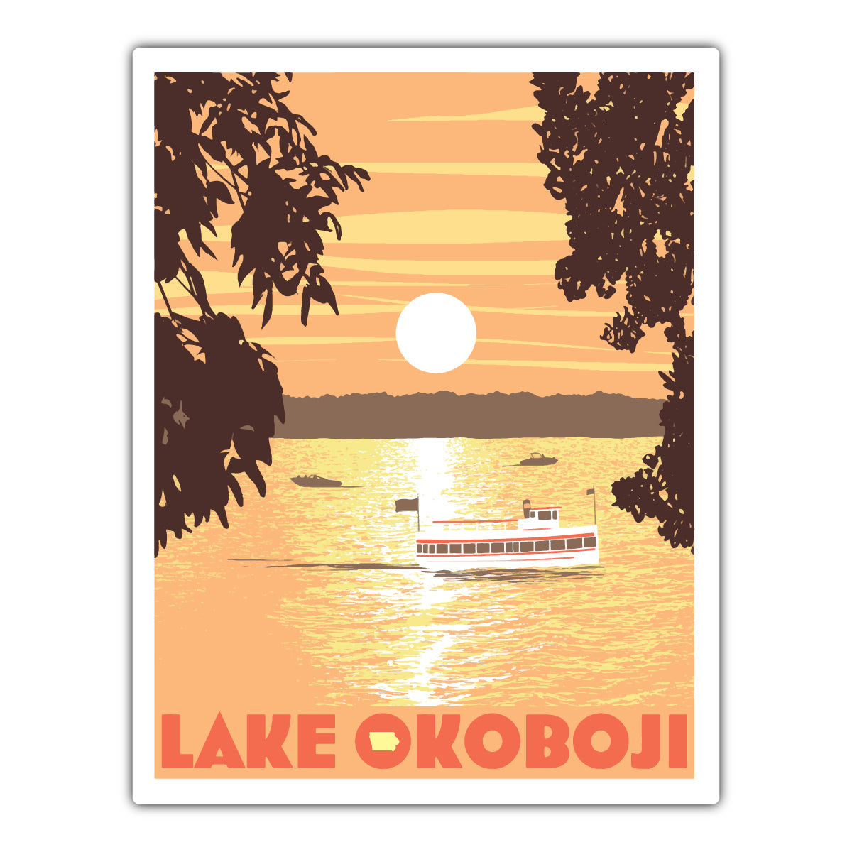 Lake Okoboji Sunset