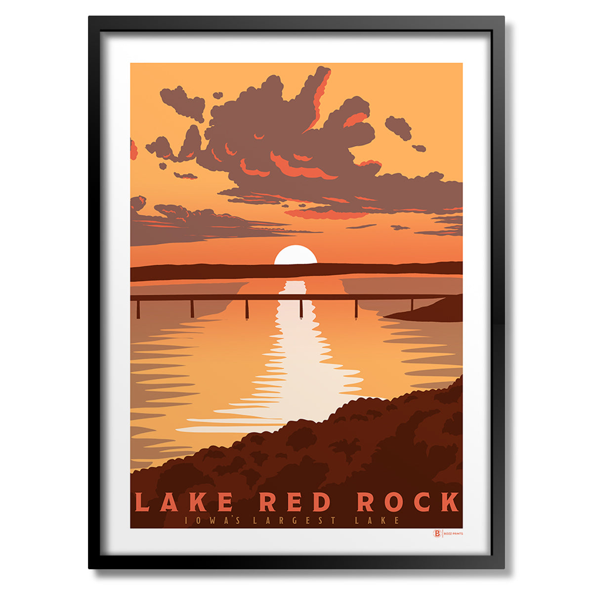 Lake Red Rock