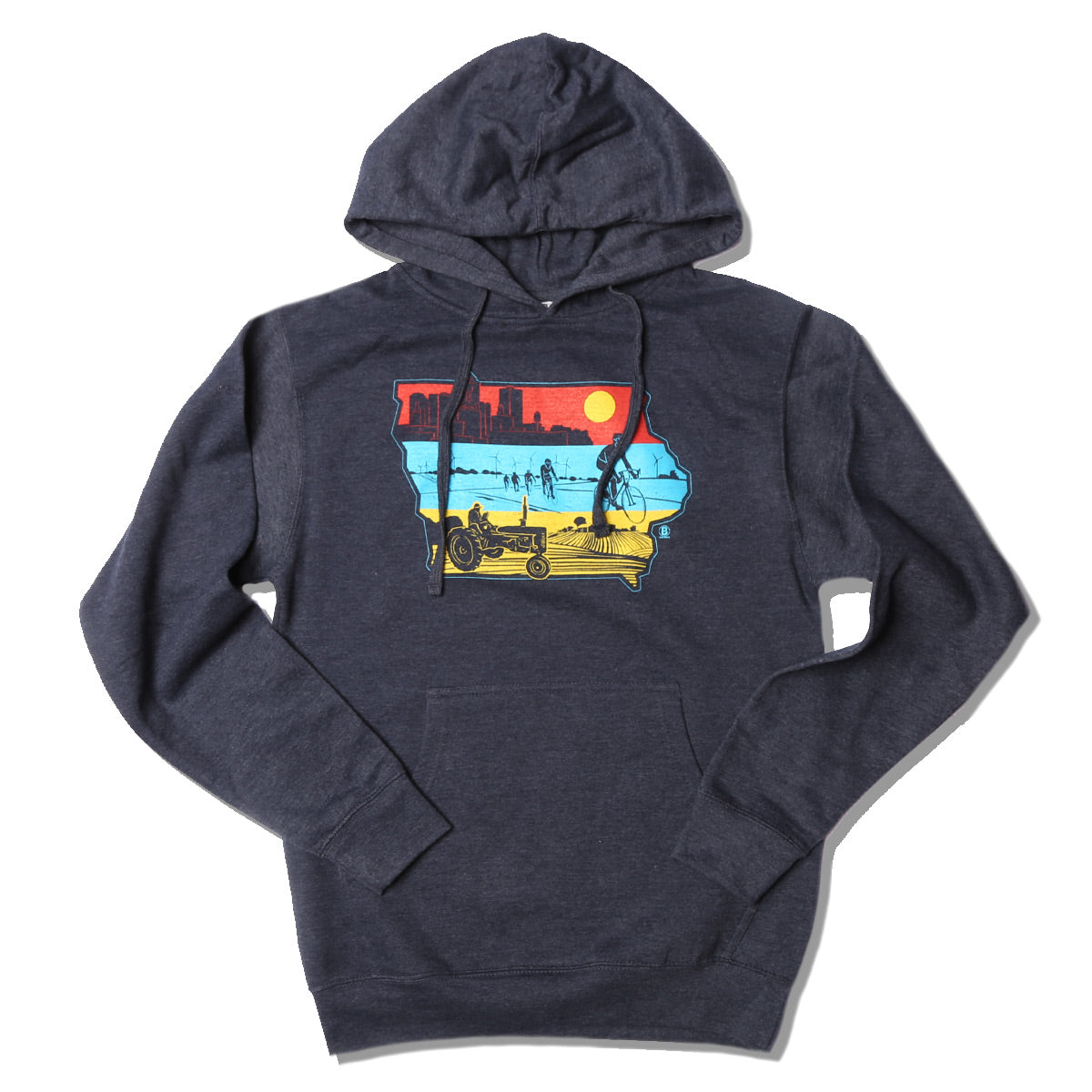 Layers of Iowa Hooded Sweatshirt