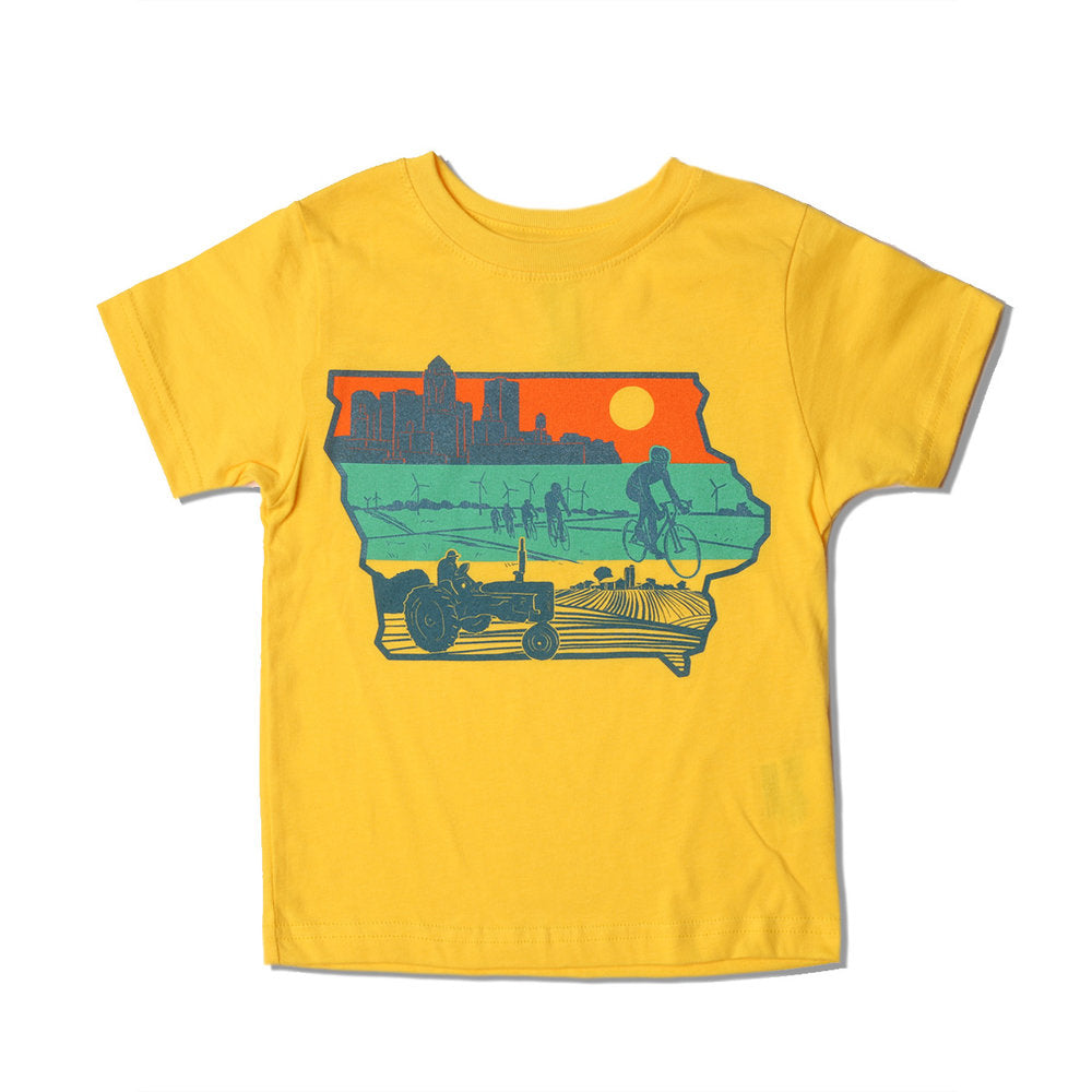 Layers of Iowa Kids T-Shirt