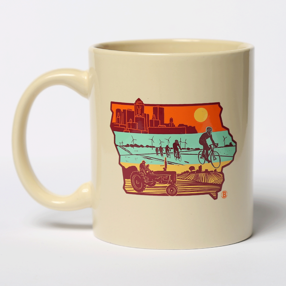 Layers of Iowa Mug