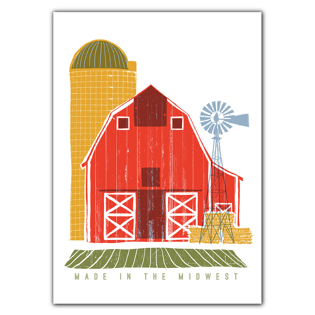 Made in the Midwest Greeting Card