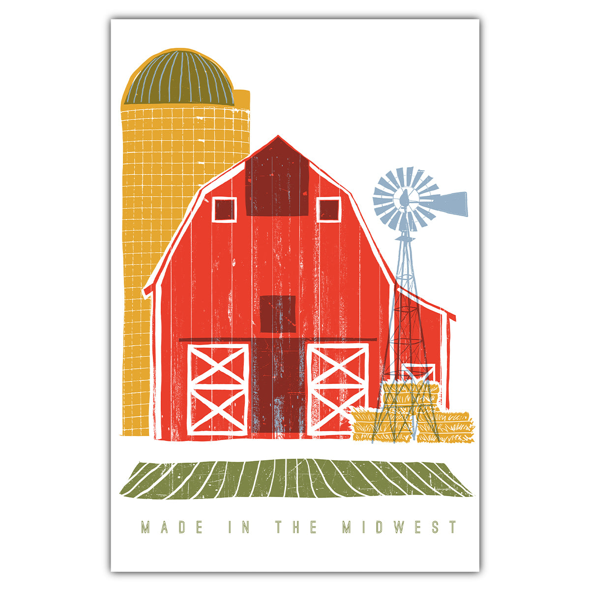 Made in the Midwest Postcard