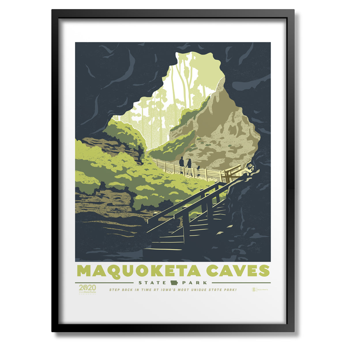 Maquoketa Caves State Park Print