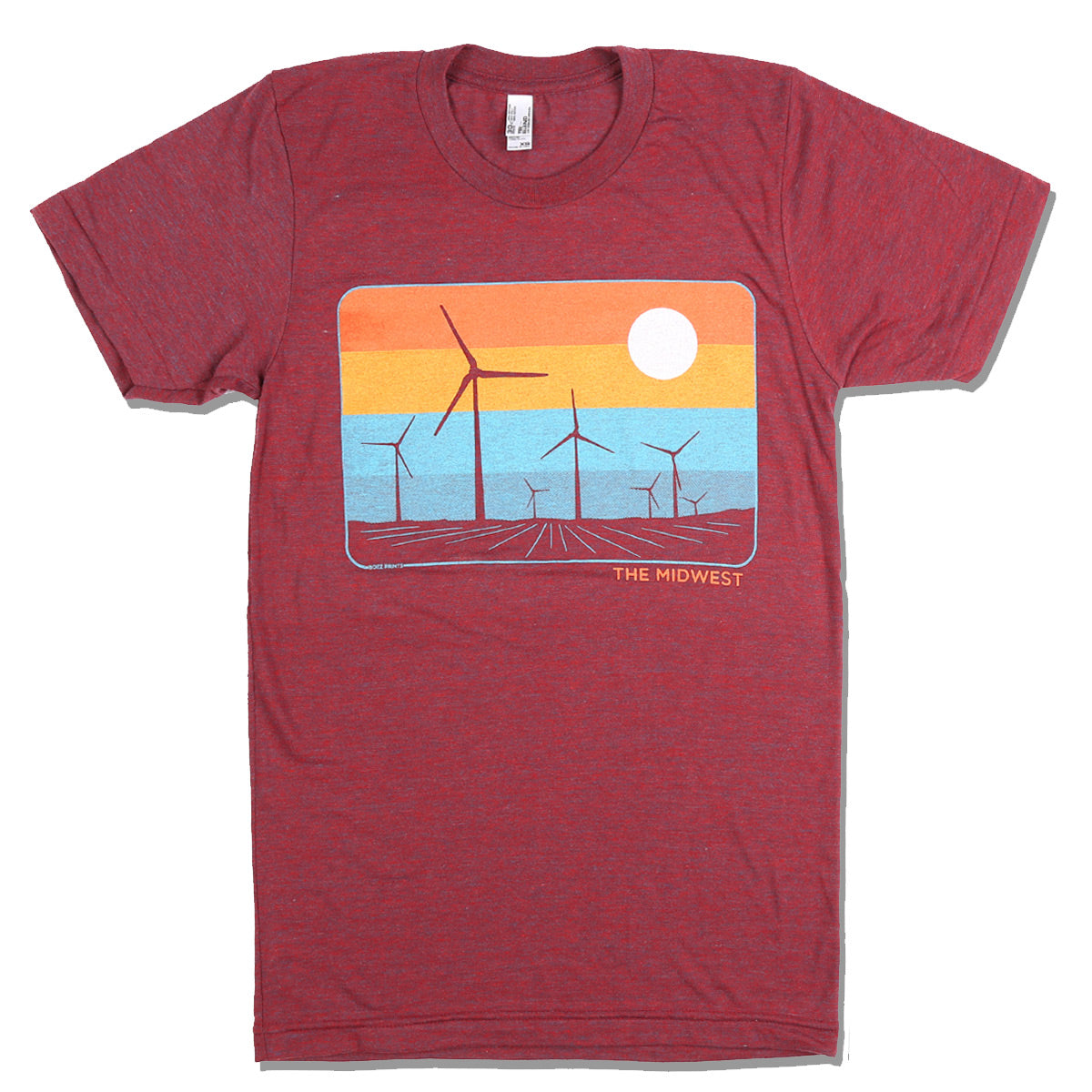The Midwest Cranberry T-Shirt
