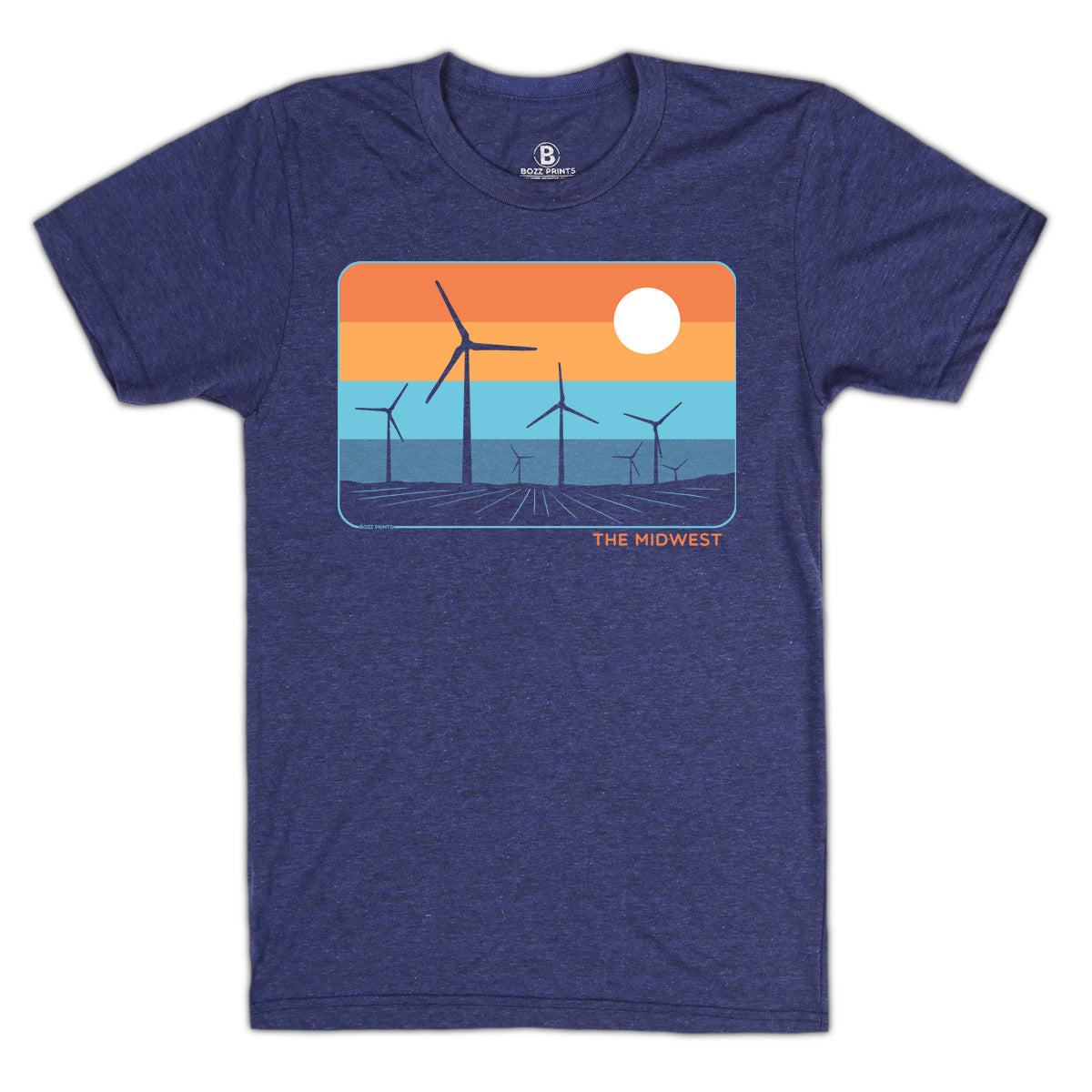The Midwest Indigo T-Shirt