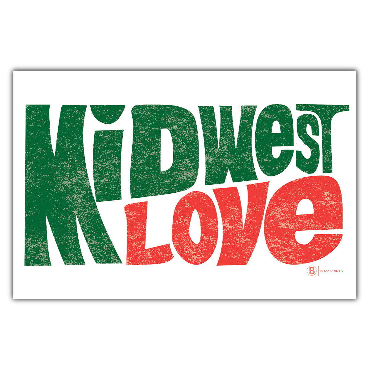 Midwest Love Postcard