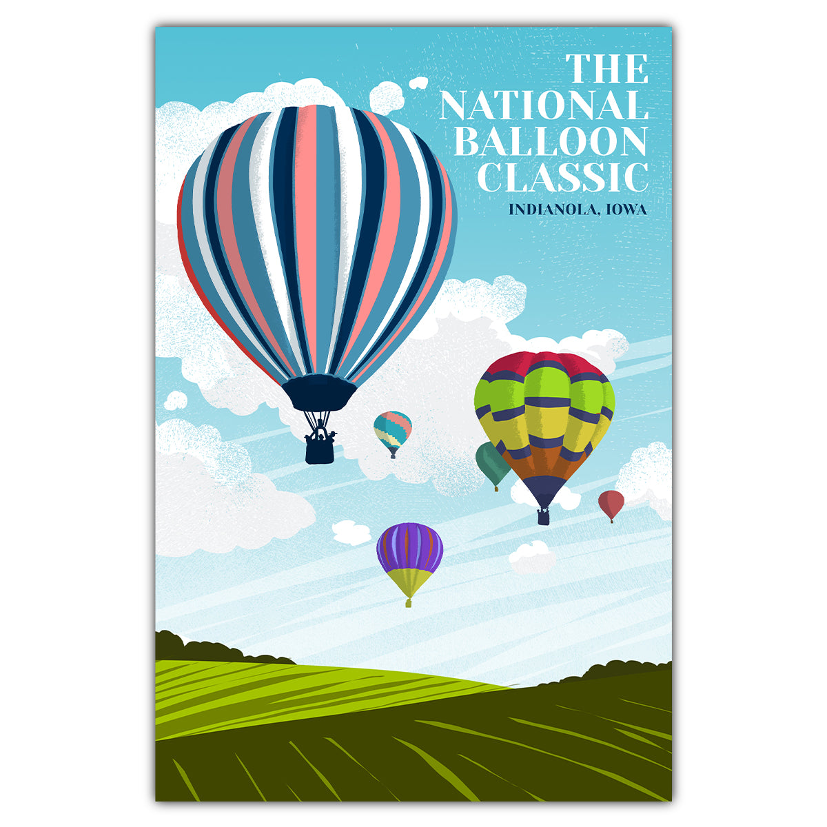 National Balloon Classic Postcard