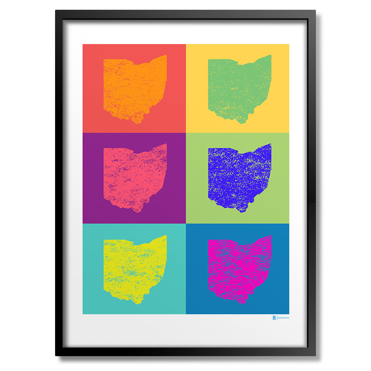 Ohio Pop Art Print
