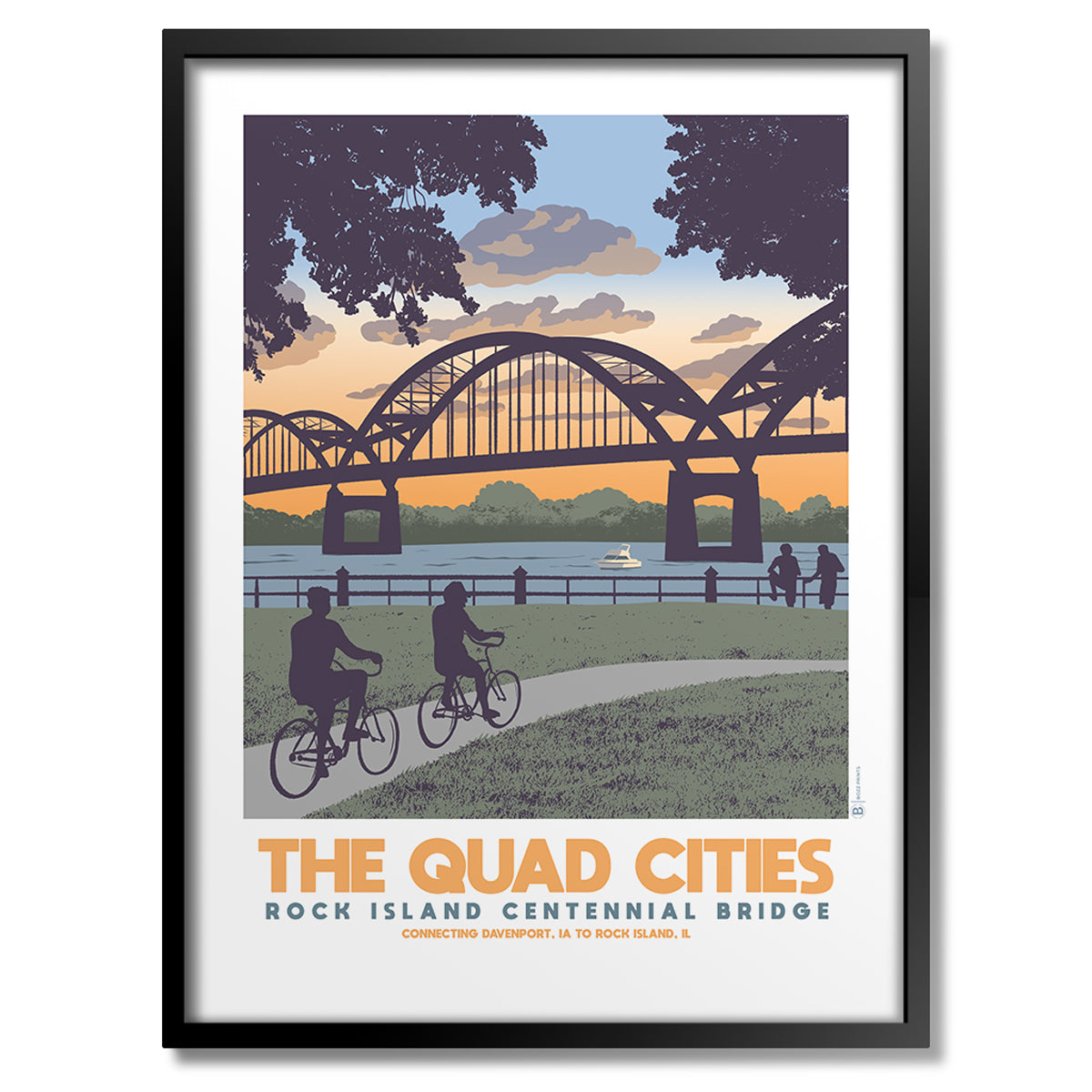 Quad Cities Centennial Bridge