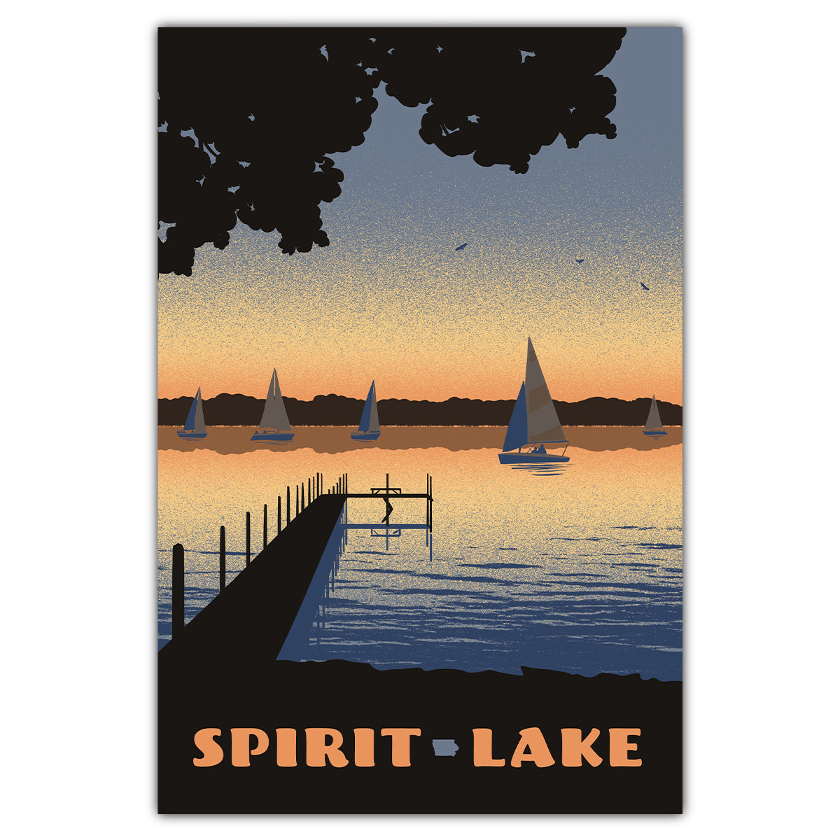 Spirit Lake Postcard