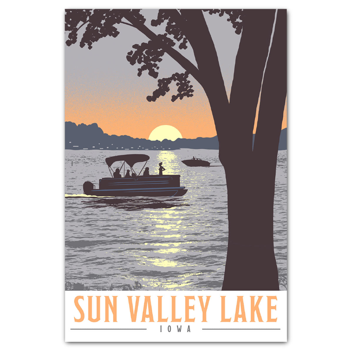 Sun Valley Lake Postcard