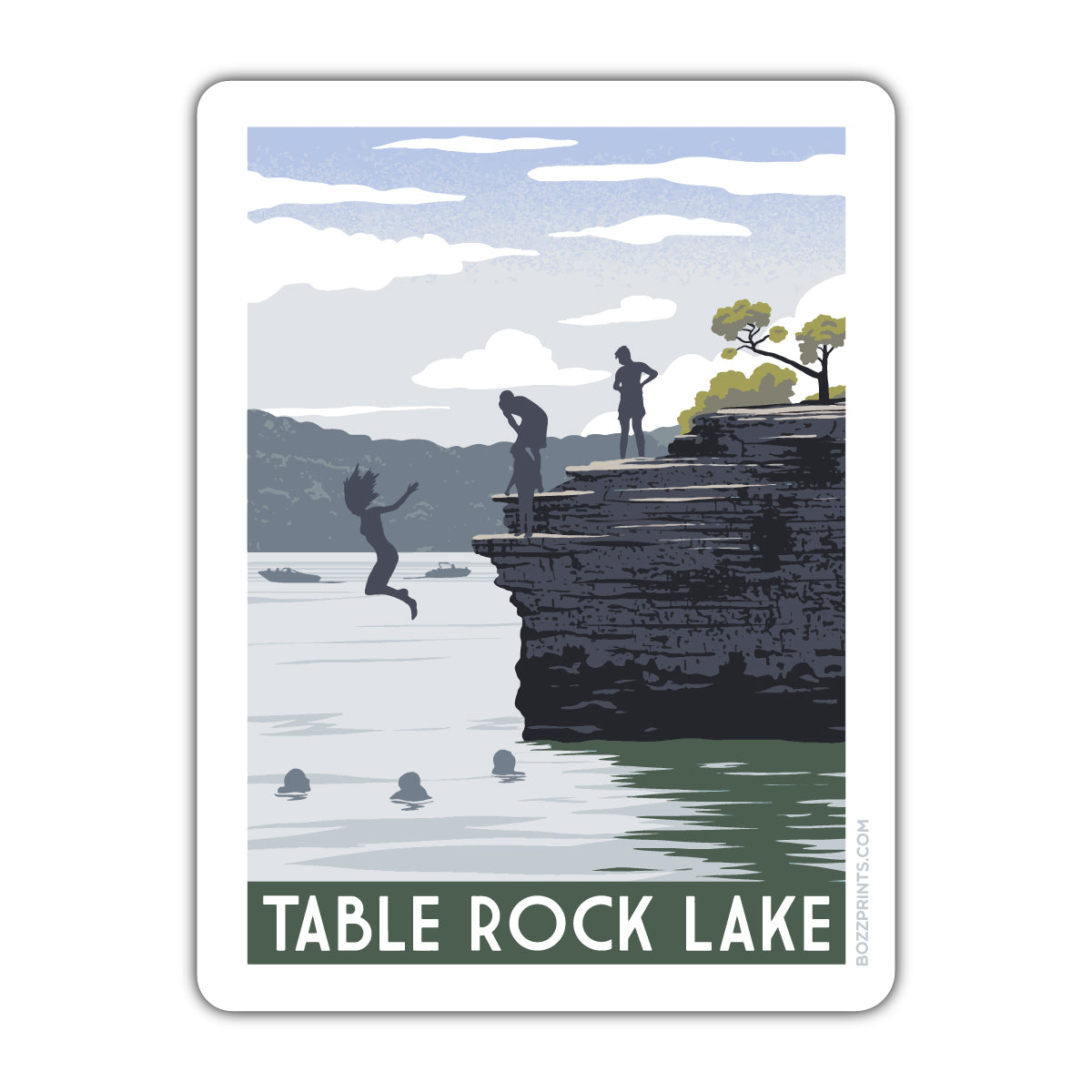 Table Rock Lake Cliffs