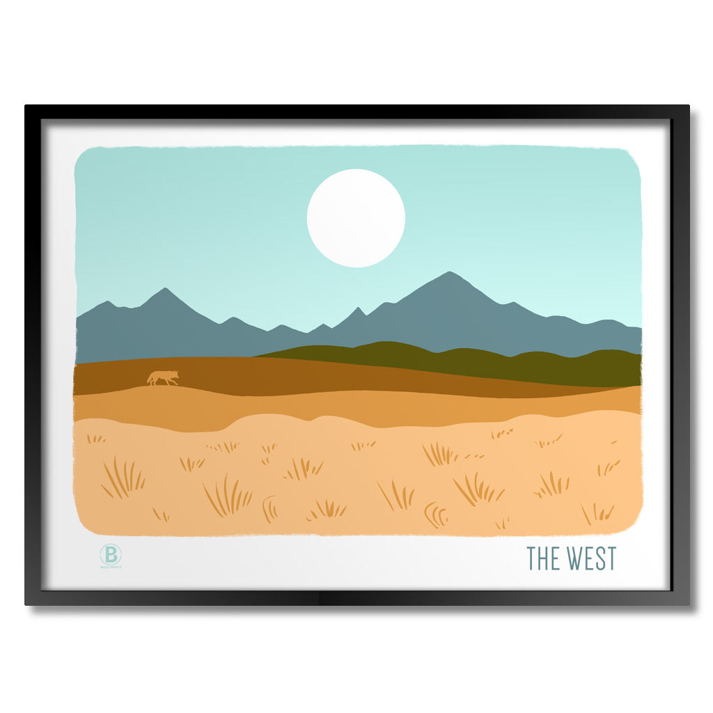 The West Print