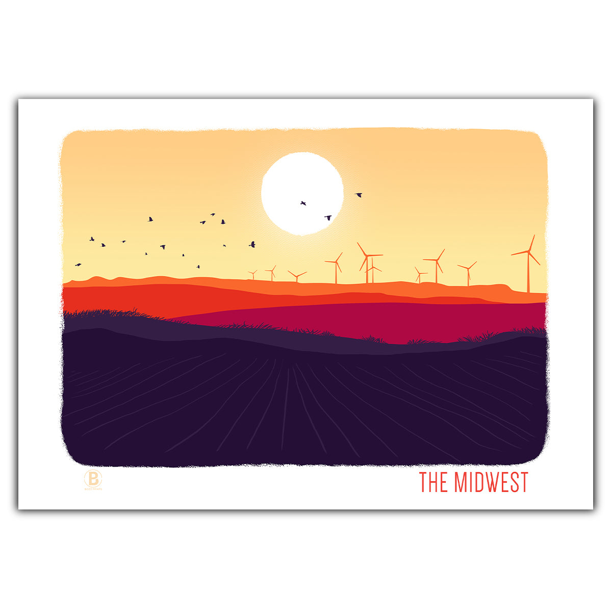 The Midwest Greeting Card