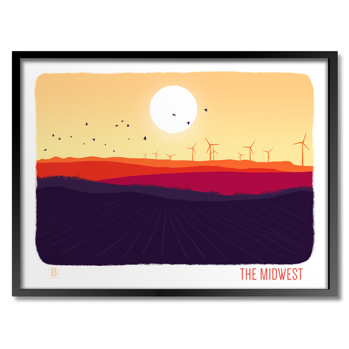 The Midwest Print