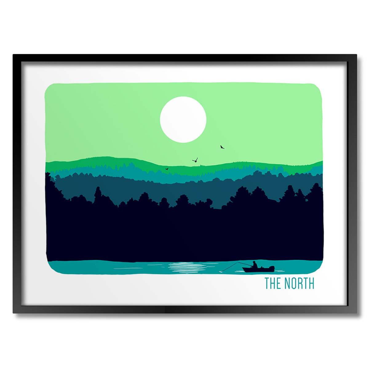 The North Print