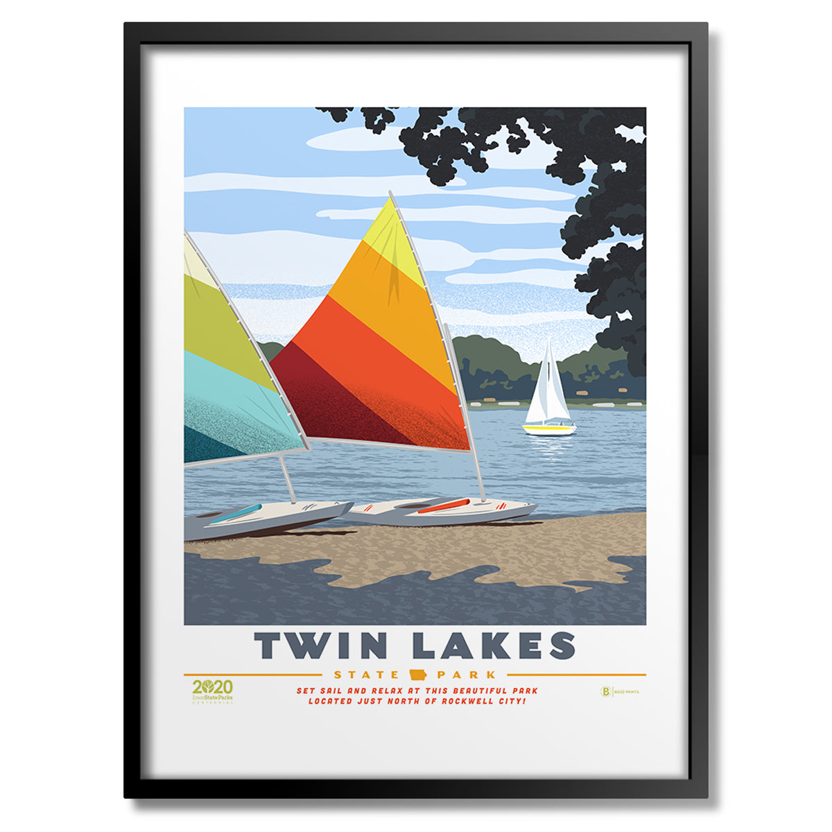 Twin Lakes State Park Print