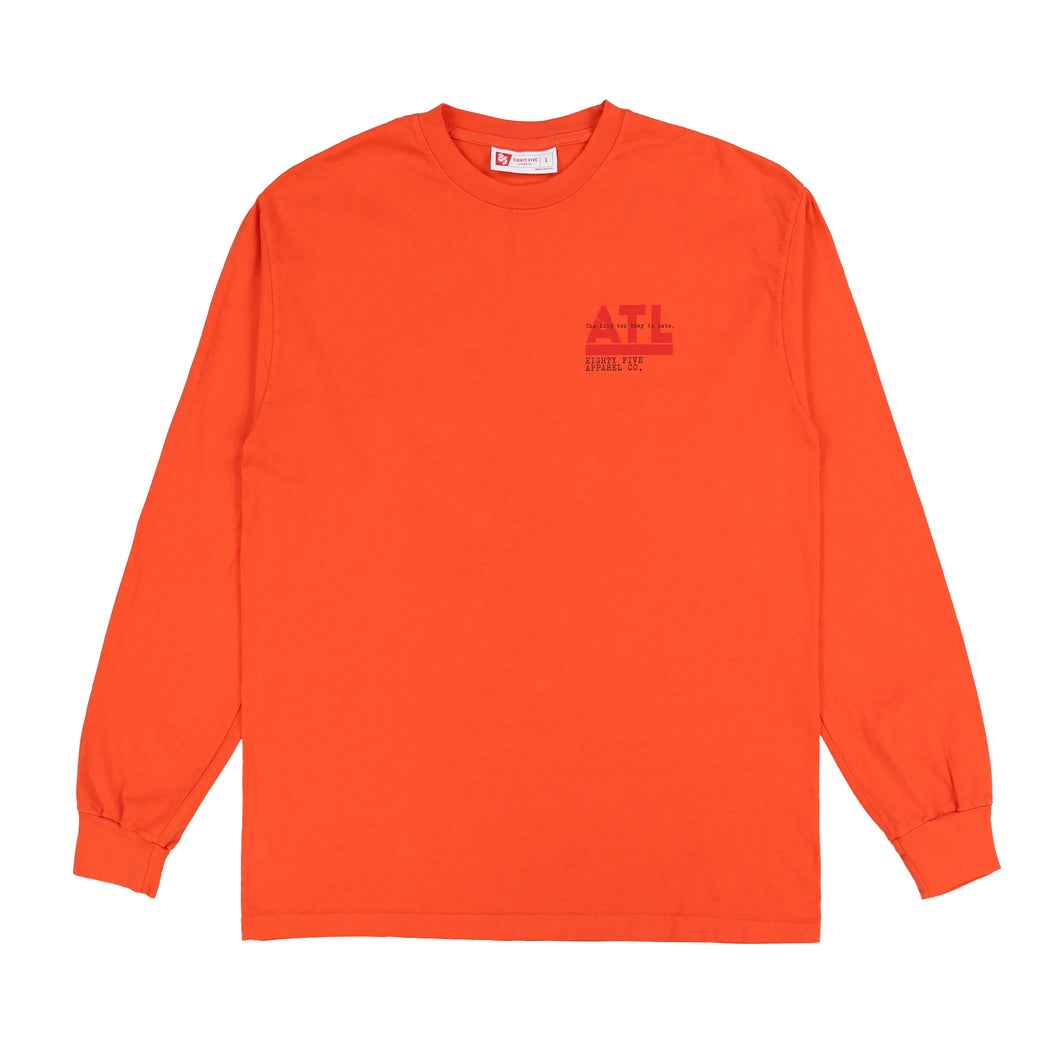 Atlanta Ticket Long Sleeve