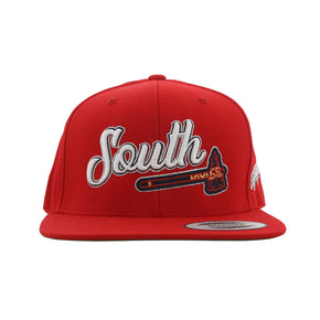 Home Of The Brave Snapback (Red)