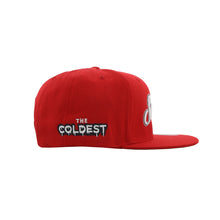 Load image into Gallery viewer, Home Of The Brave Snapback (Red)
