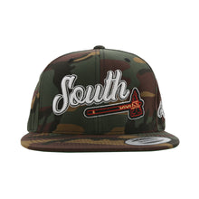 Load image into Gallery viewer, Home Of The Brave Snapback (Camo)
