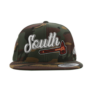 Home Of The Brave Snapback (Camo)