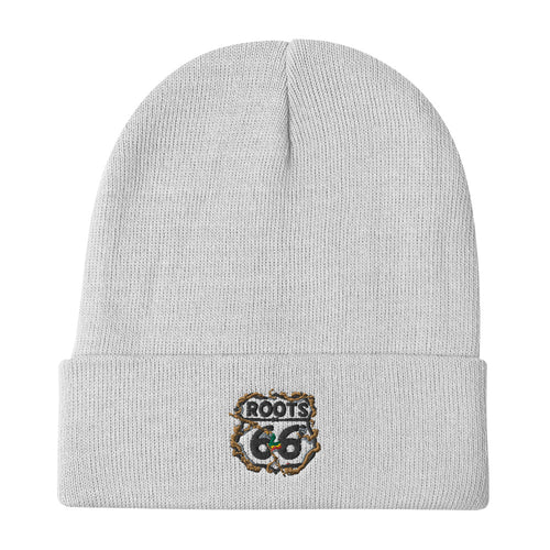 Embroidered Roots Beanie