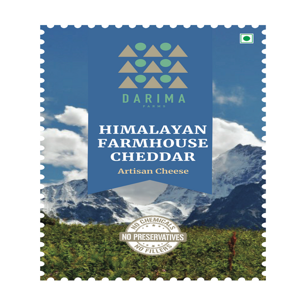Himalayan Farmhouse Cheddar (Per 200 Grams)