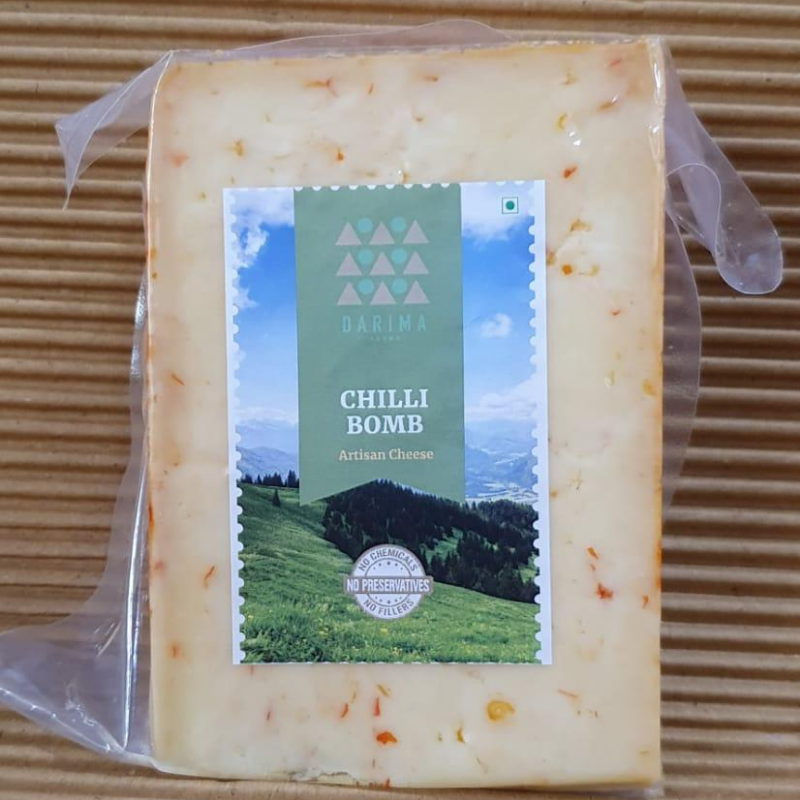 Chilli Bomb Cheese (Per 200 Grams)