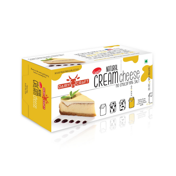 Dairy Craft Cream Cheese (Per 200 Grams)