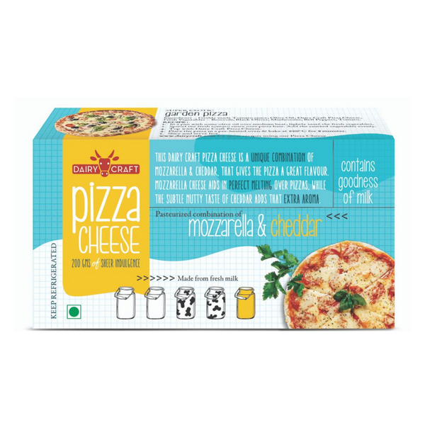 Dairy Craft Pizza Cheese (Per 200 Grams)
