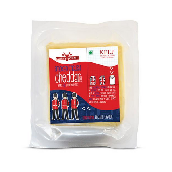 Dairy Craft Smoked English Cheddar (Per 200 Grams)