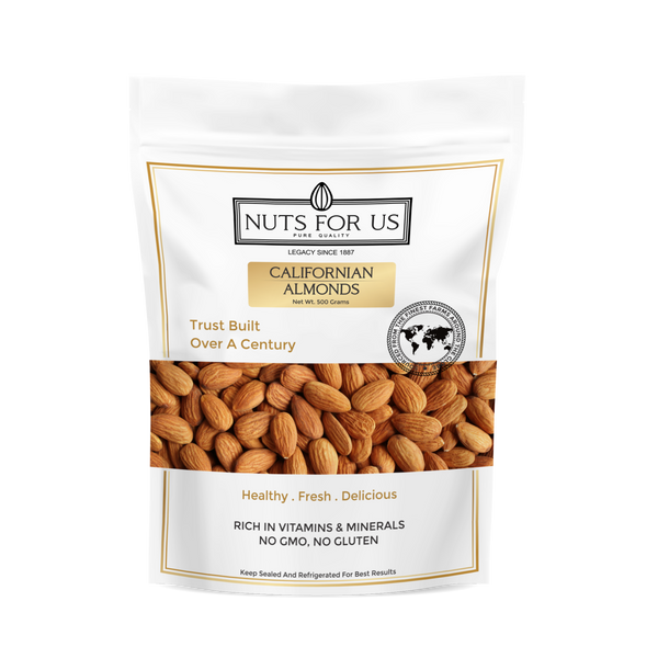 CALIFORNIAN  ALMONDS (PER 500 GRAMS)