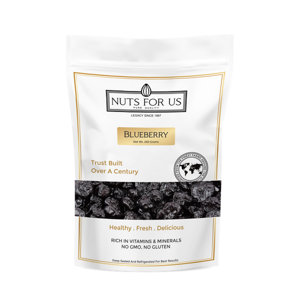 DRIED BLUEBERRIES (PER 250 GRAMS)