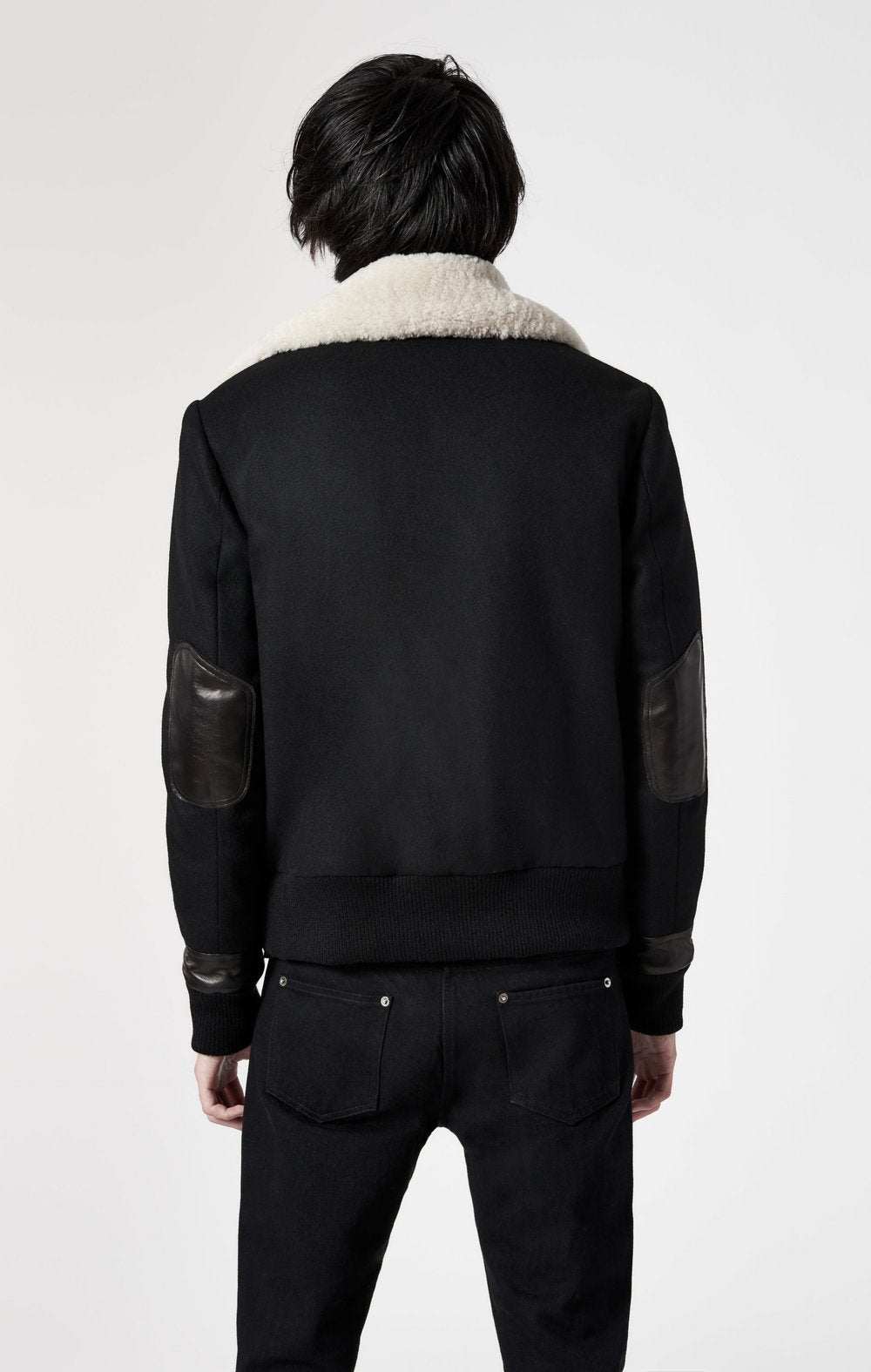 Arctic Wool Bomber Jacket