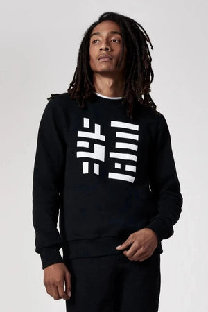 345 Logo Sweatshirt Black