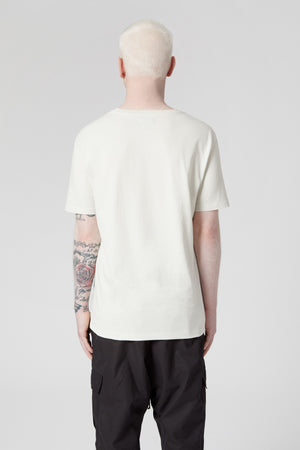 Oyster White Tee