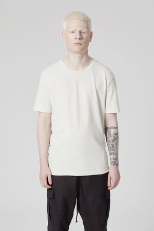 Oyster White Oversized Tee