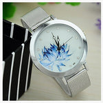 Blue Rose Watch