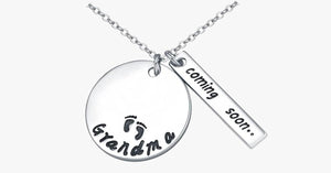 Grandma Coming Soon Necklace