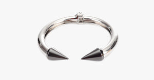 Silver Love Arrow Bangle