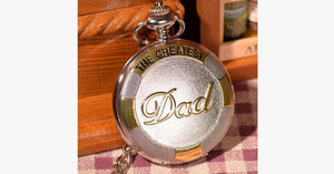 Greatest Dad Pocket Watch